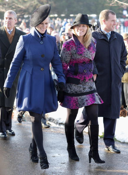 King's Lynn「Royals Attend Christmas Day Service At Sandringham」:写真・画像(2)[壁紙.com]