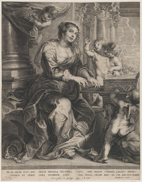 The Passion - Musical「Saint Cecilia Playing The Organ Surrounded By Putti」:写真・画像(2)[壁紙.com]