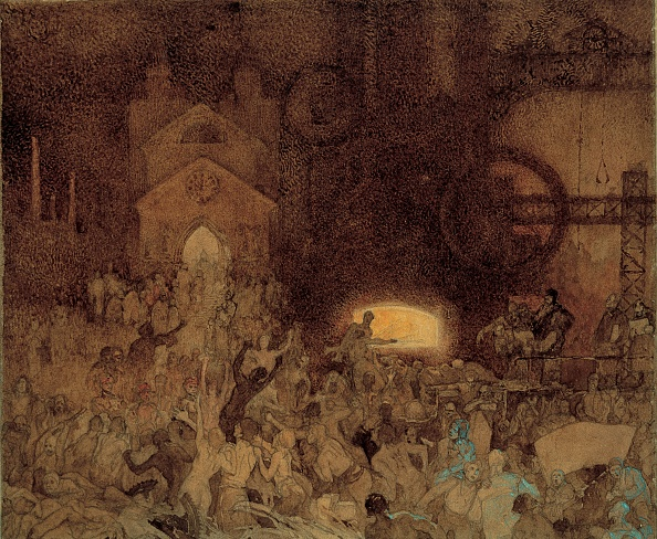 Art Nouveau「Study For The Age Of Reason」:写真・画像(16)[壁紙.com]