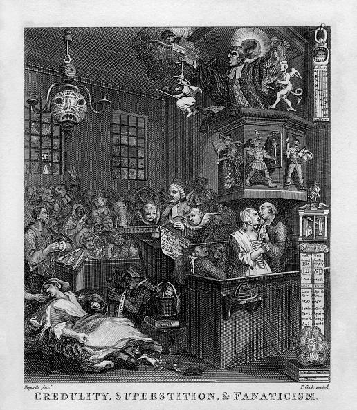 William Hogarth「Credulity, Superstition and Fanaticism by William Hogarth」:写真・画像(19)[壁紙.com]