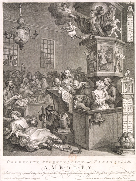 Methodist「'Credulity, Superstition and Fanaticism. A medley', 1762. Artist: William Hogarth」:写真・画像(7)[壁紙.com]