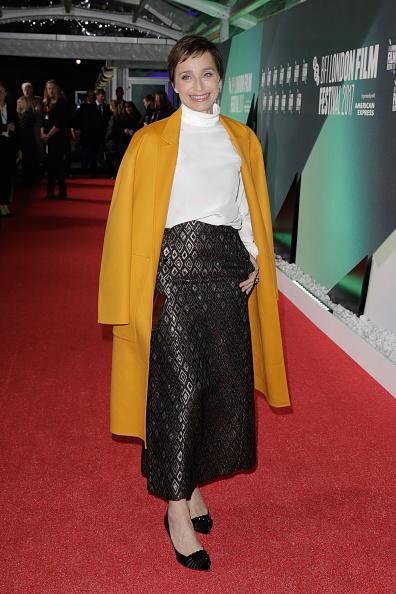 "Yellow Coat「""The Party"" UK Premiere - 61st BFI London Film Festival」:写真・画像(4)[壁紙.com]"