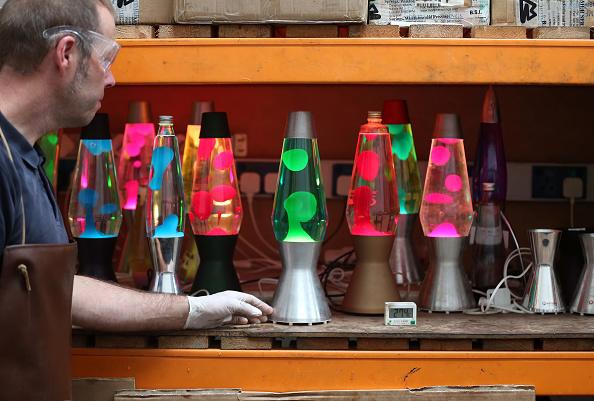 電灯「50th Anniversary Of Mathmos Lava Lamps」:写真・画像(4)[壁紙.com]