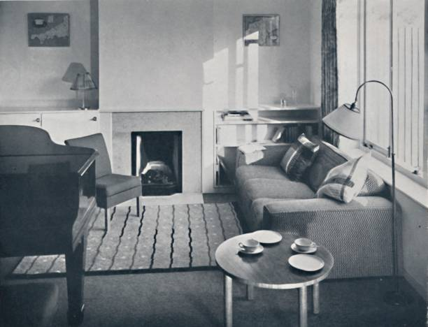 Elsa Booth - Living Room Which Was Planned To Accommodate A Grand Pianoforte:ニュース(壁紙.com)
