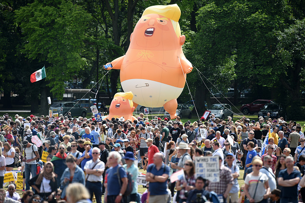 Baby - Human Age「Scotland Protests At The Visit Of United States President Donald Trump」:写真・画像(19)[壁紙.com]