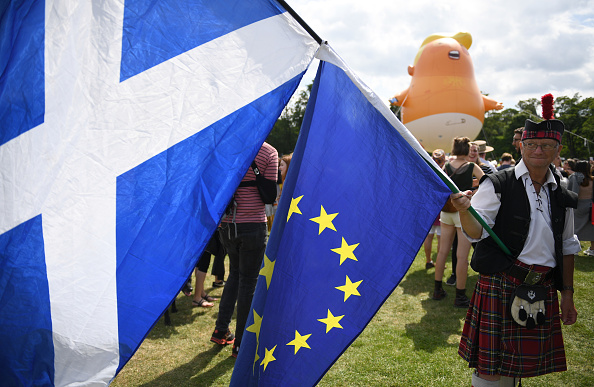 European Union「Scotland Protests At The Visit Of United States President Donald Trump」:写真・画像(0)[壁紙.com]