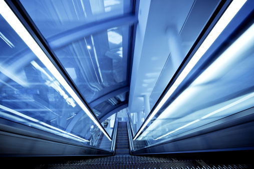 Abstract Backgrounds「escalator in motion」:スマホ壁紙(15)