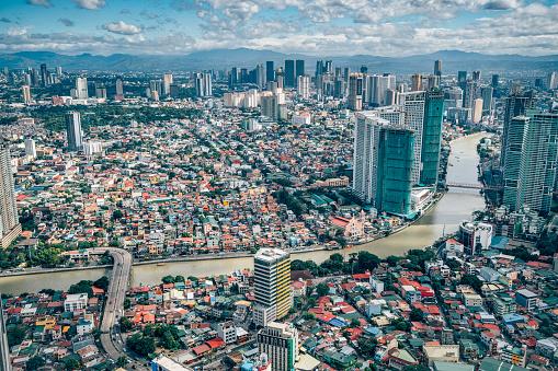 Philippines「View over Makati Skyline, Metro Manila - Philippines」:スマホ壁紙(8)