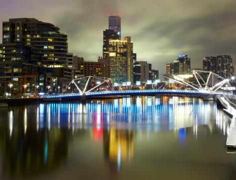 Melbourne Docklands「View over Melbourne and River Yarra」:スマホ壁紙(16)