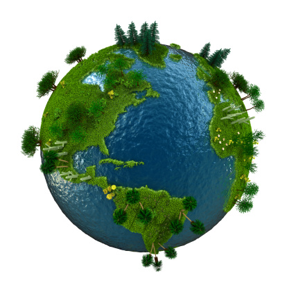 Planet Earth「Green world」:スマホ壁紙(18)