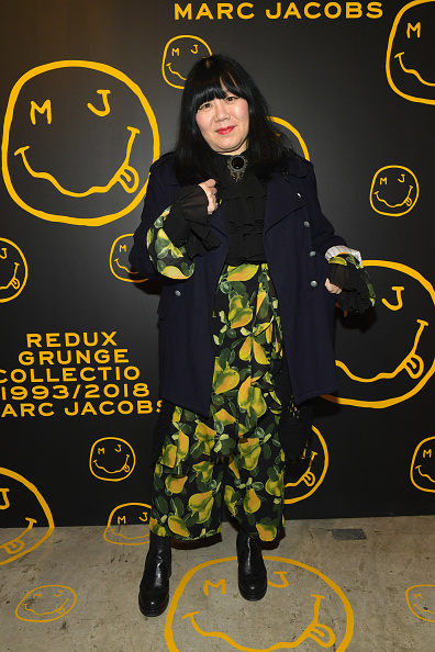 Ruffled Shirt「Marc Jacobs, Sofia Coppola & Katie Grand Celebrate The Marc Jacobs Redux Grunge Collection And The Opening Of Marc Jacobs Madison」:写真・画像(5)[壁紙.com]