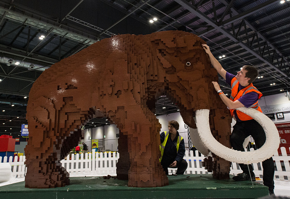 Adult「Finishing Touches Are Applied To The Brick Lego Expo 2015」:写真・画像(8)[壁紙.com]
