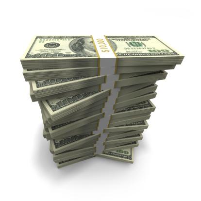 American One Hundred Dollar Bill「Money Stack」:スマホ壁紙(10)