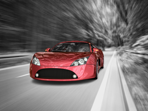 Sports Car「supercar in forest」:スマホ壁紙(11)
