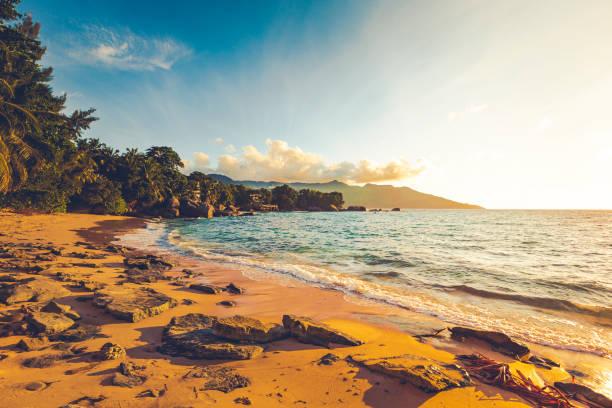 beau vallon beach sundowner, mahe, seychelles:スマホ壁紙(壁紙.com)