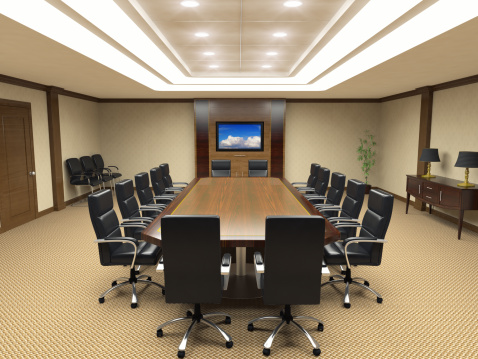 Meeting「Board Room Interior」:スマホ壁紙(10)