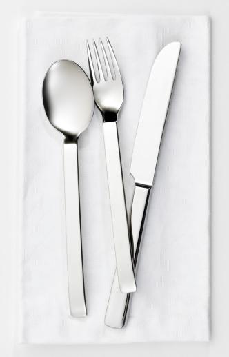 Napkin「Fork, knife and spoon set」:スマホ壁紙(1)