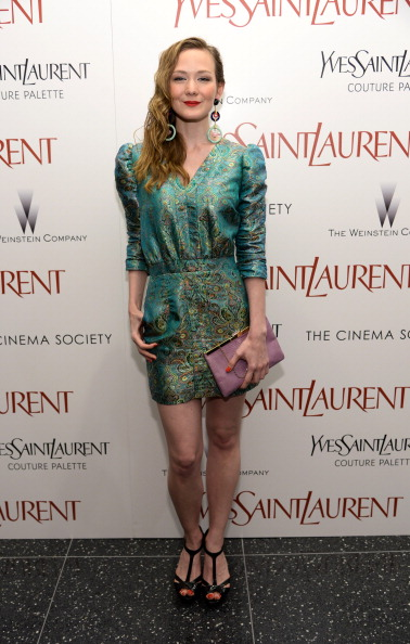 "Black Shoe「Yves Saint Laurent Couture Palette &  The Cinema Society Host The Premiere Of The Weinstein Company's ""Yves Saint Laurent"" - Arrivals」:写真・画像(4)[壁紙.com]"