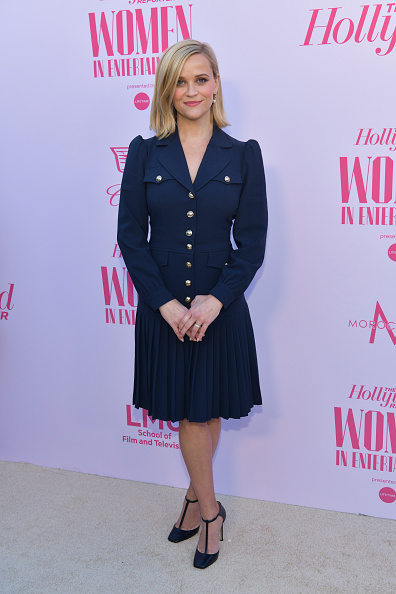 Reese Witherspoon「The Hollywood Reporter's Annual Women in Entertainment Breakfast Gala - Arrivals」:写真・画像(14)[壁紙.com]