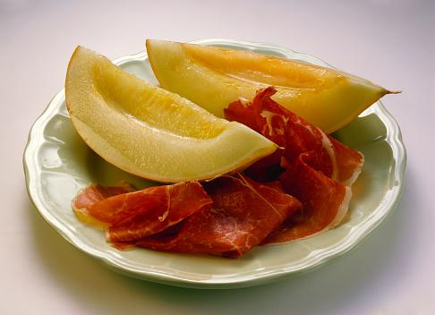 メロン「Prosciutto e melone (melon and ham appetiser, Italy)」:スマホ壁紙(2)