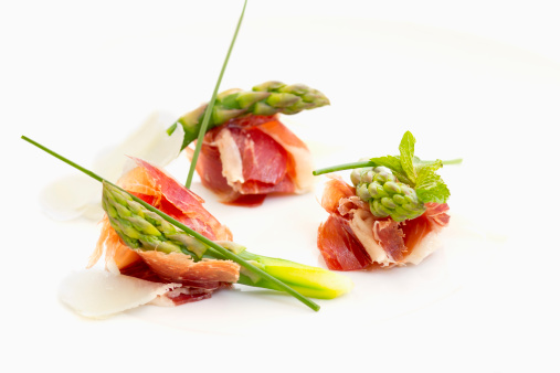 Buffet「A prosciutto appetizer with dry cured ham」:スマホ壁紙(3)