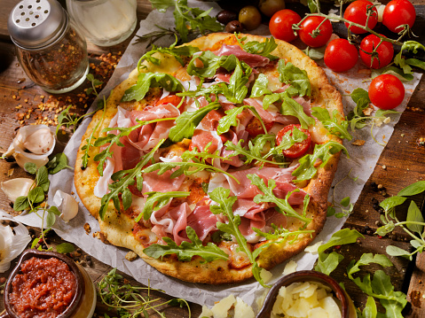 Garlic Clove「Prosciutto and Arugula Artisan Pizza」:スマホ壁紙(19)