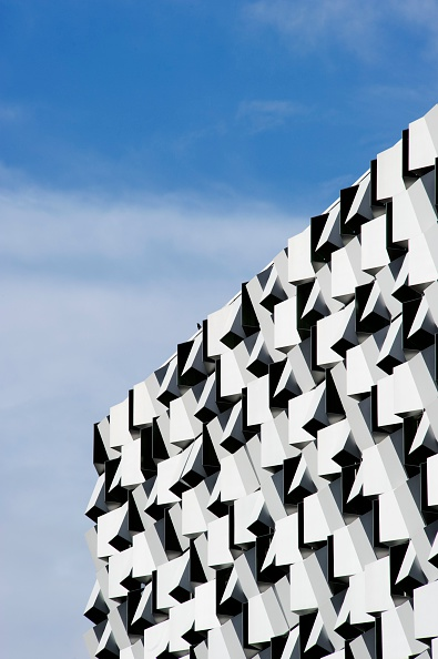 2000s Style「Detail view of the building known as the 'Cheese Grater', Sheffield, South Yorkshire, 2009」:写真・画像(17)[壁紙.com]