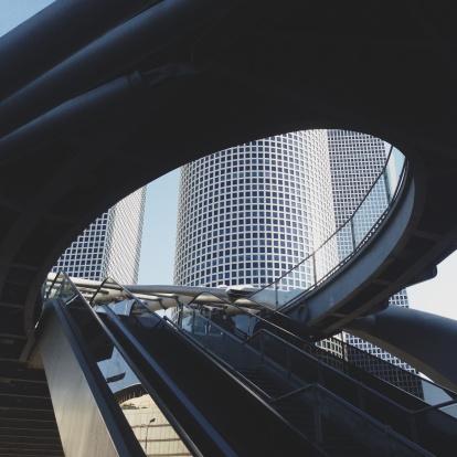 Auto Post Production Filter「Israel, Azrieli Towers」:スマホ壁紙(17)