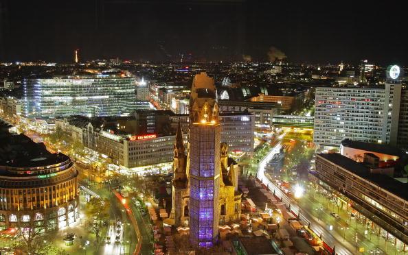 Berlin「Kaiser Wilhelm Memorial Church By Night」:写真・画像(17)[壁紙.com]