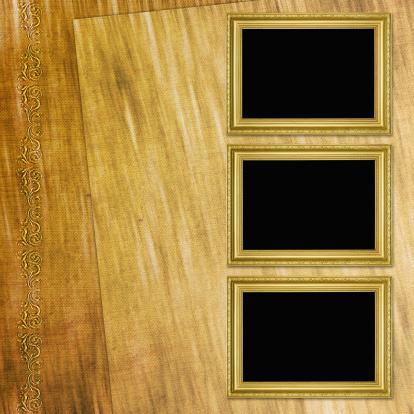 Manuscript「Background with frames」:スマホ壁紙(2)