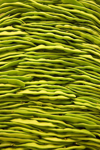 Bush Bean「Background of Green Beans in Pile」:スマホ壁紙(3)