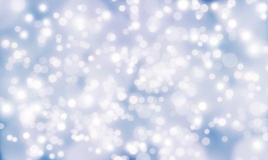 雪の結晶「光輝く背景」:スマホ壁紙(19)