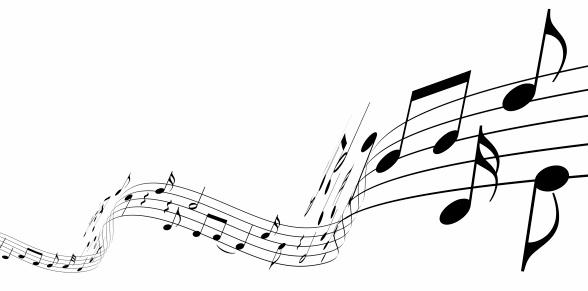 Classical Music「3d music notes」:スマホ壁紙(10)