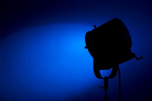 Behind The Scenes「Blue Spotlight」:スマホ壁紙(14)