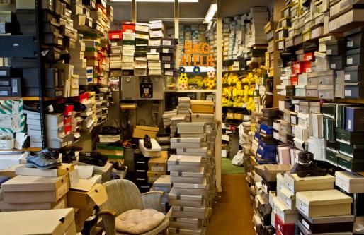 Rack「Storage room in shoe shop.」:スマホ壁紙(6)