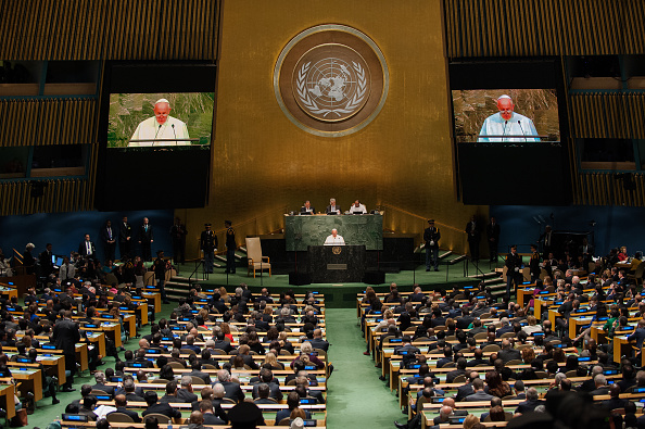 United Nations General Assembly「Pope Francis Addresses The United Nations General Assembly」:写真・画像(8)[壁紙.com]