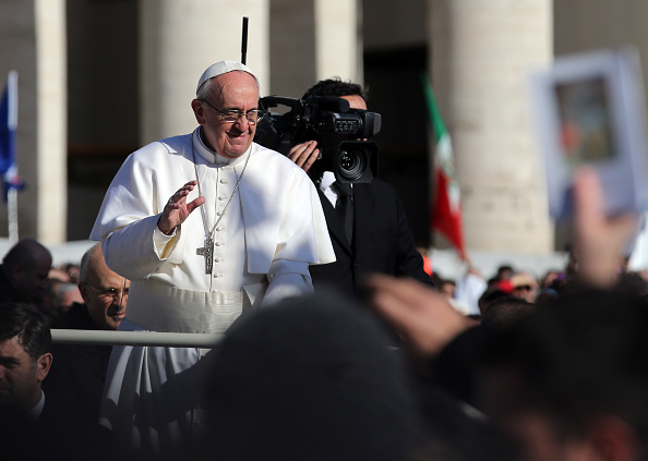 Christopher Furlong「The Inauguration Mass For Pope Francis」:写真・画像(4)[壁紙.com]