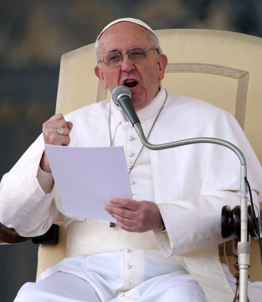Speech「Pope Francis Holds His Weekly General Audience」:写真・画像(6)[壁紙.com]