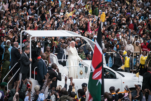 Nichole Sobecki「Kenya Welcomes Pope Francis For His First Visit To Africa」:写真・画像(9)[壁紙.com]