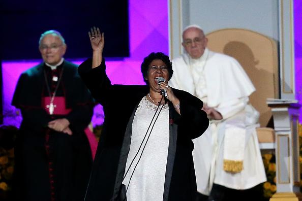 Philadelphia - Pennsylvania「Pope Francis Visits The Festival Of Families On Philadelphia's Benjamin Franklin Parkway」:写真・画像(15)[壁紙.com]