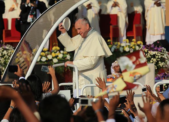 Religious Mass「Pope Francis Visits Sri Lanka - Day 2」:写真・画像(13)[壁紙.com]