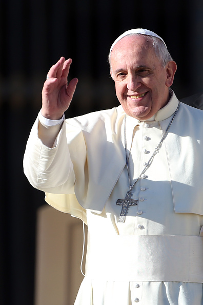 Franco Origlia「Pope Attends His Weekly Audience In St. Peter's Square」:写真・画像(16)[壁紙.com]