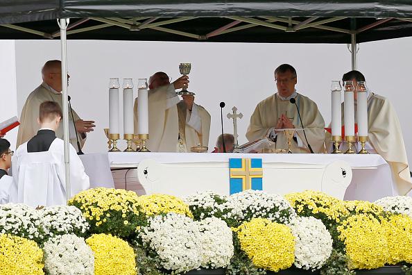 Religion「Pope Francis Visits Sweden - Day 2」:写真・画像(10)[壁紙.com]