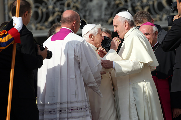 Franco Origlia「Pope Francis Holds A Mass For Grandparents And The Elderly」:写真・画像(17)[壁紙.com]