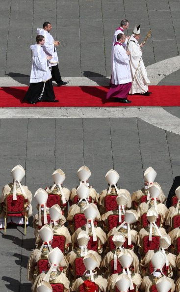 Religious Mass「The Inauguration Mass For Pope Francis」:写真・画像(16)[壁紙.com]
