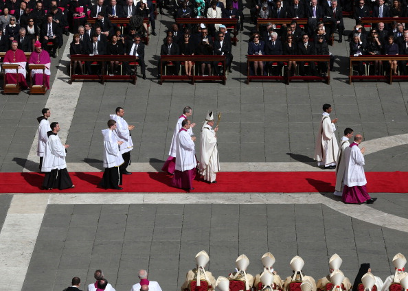 St「The Inauguration Mass For Pope Francis」:写真・画像(4)[壁紙.com]