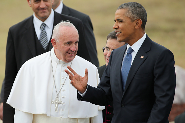 Joint Base Andrews「Pope Francis Arrives From Cuba For Visit To D.C., New York, And Philadelphia」:写真・画像(19)[壁紙.com]