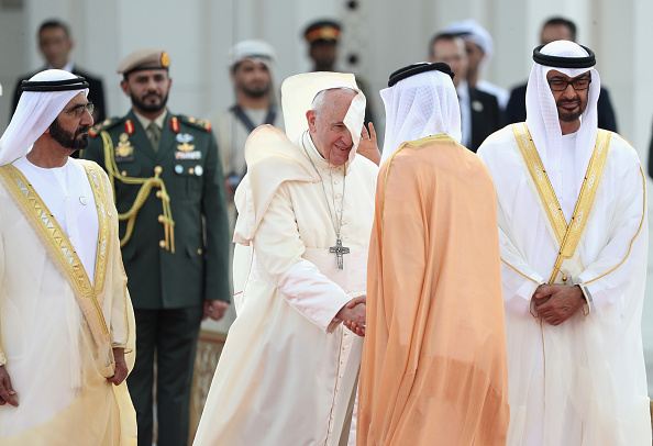 Francois Nel「Pope Francis Visits Abu Dhabi」:写真・画像(16)[壁紙.com]