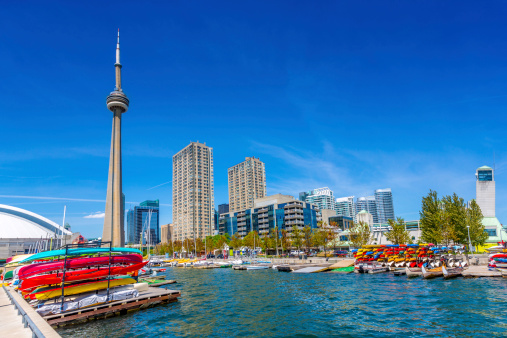 Great Lakes「Toronto Harbour Front in Summer Canada」:スマホ壁紙(5)
