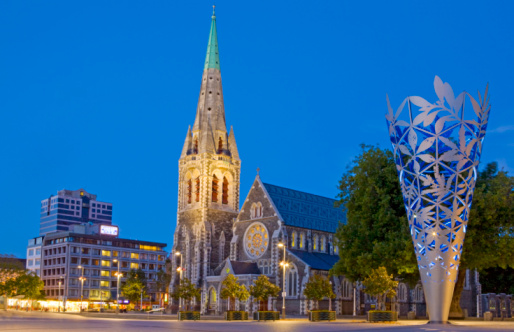 Cathedral「Christ church Cathedral in Cathedral Square」:スマホ壁紙(13)